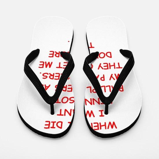minnesota sports Flip Flops