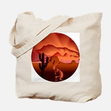 Southwest Kokopelli Tote Bag