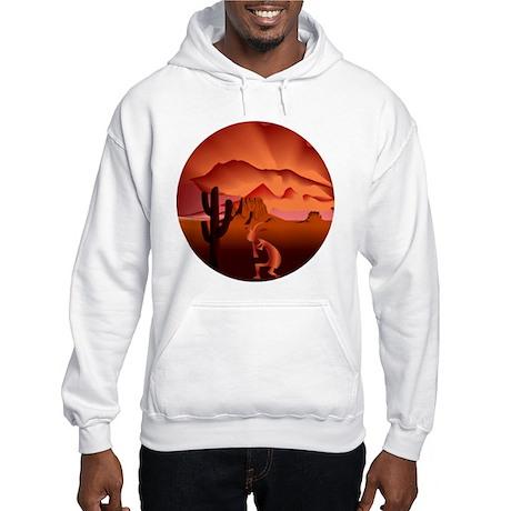 Southwest Kokopelli Hooded Sweatshirt