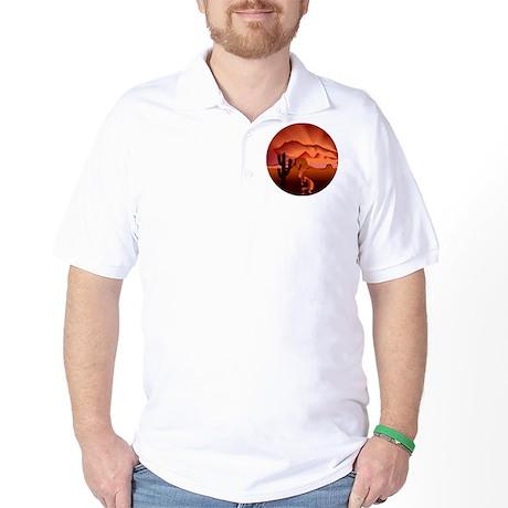 Southwest Kokopelli Golf Shirt