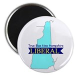 Magnet (10 PACK) True Blue New Hampshire LIBERAL