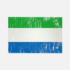 Vintage Sierra Leone Rectangle Magnet