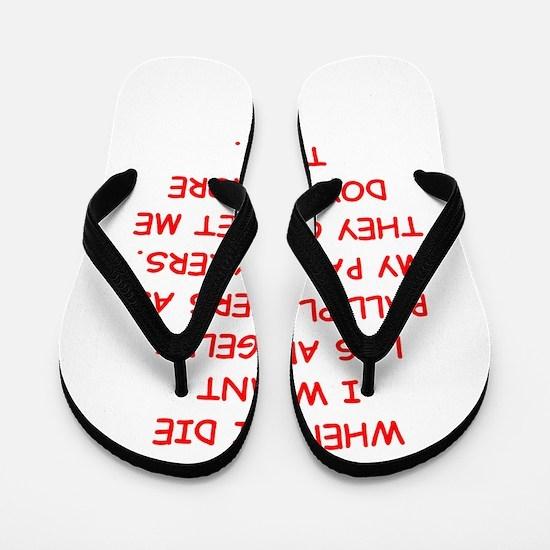 los angeles sports Flip Flops