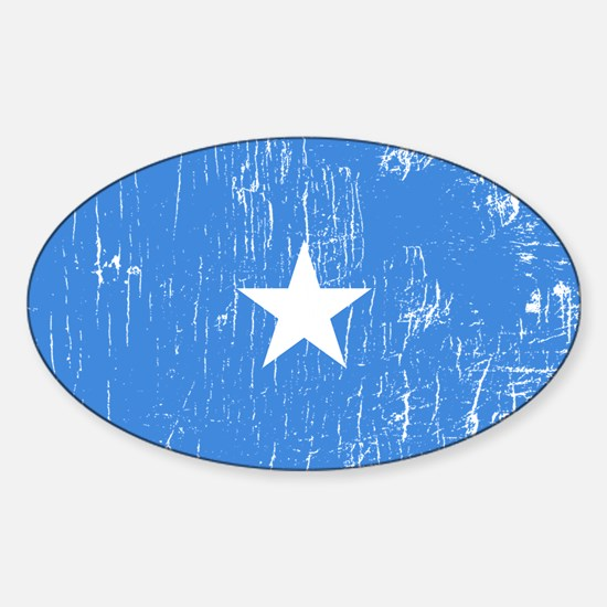 Vintage Somalia Oval Decal