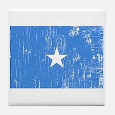 Vintage Somalia Tile Coaster