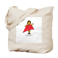 Little Miss Latin Tote Bag