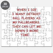 detroit sports joke Puzzle