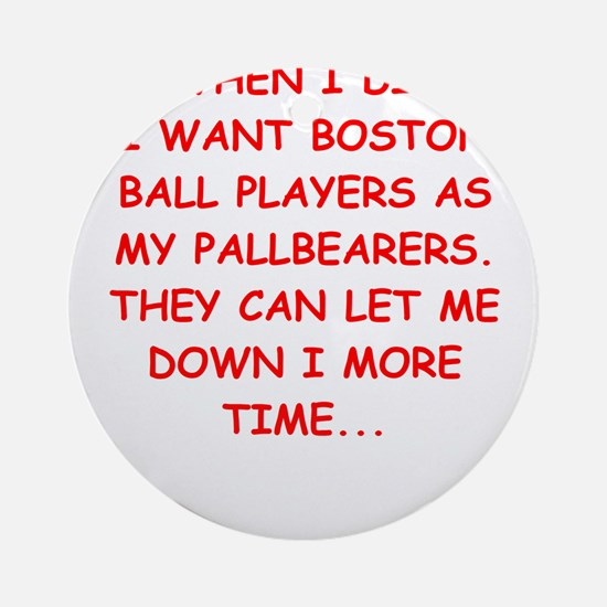 boston sports Ornament (Round)