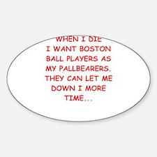 boston sports Decal