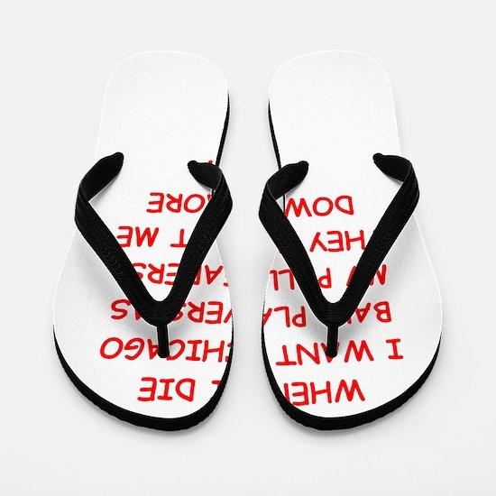 chicago sports Flip Flops