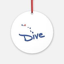 Dive Ornament (Round)