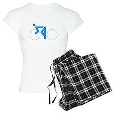 Blue Cycling Pajamas