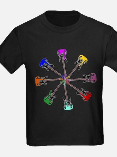 Guitar wheel - Color T-Shirt