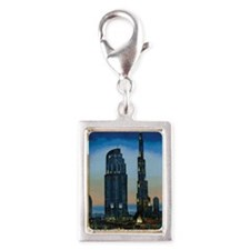 the dream city Silver Portrait Charm