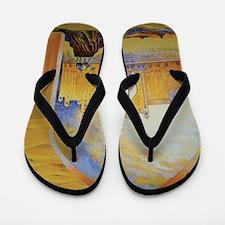 Atlantis and Camels Dubai Flip Flops