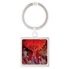 The dancer Square Keychain