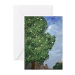 Magnolia Tree Note Cards (Pk of 10)