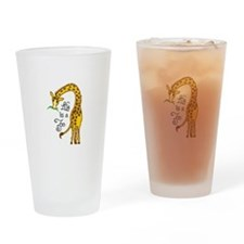 LIFE IS A ZOO Drinking Glass