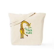 GIRAFFE LUNCH TIME Tote Bag