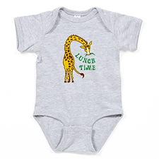 GIRAFFE LUNCH TIME Baby Bodysuit