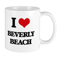 I Love Beverly Beach Mugs