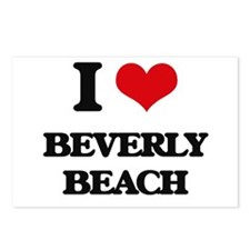 I Love Beverly Beach Postcards (Package of 8)