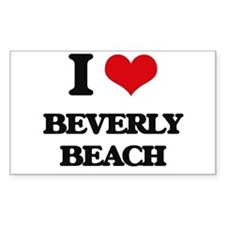 I Love Beverly Beach Decal