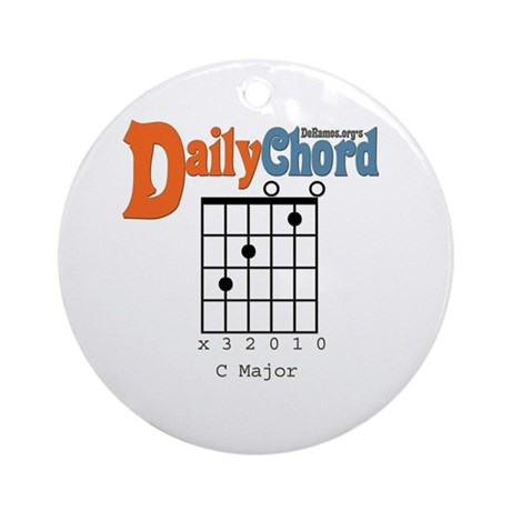 Daily Chord Ornament (Round)