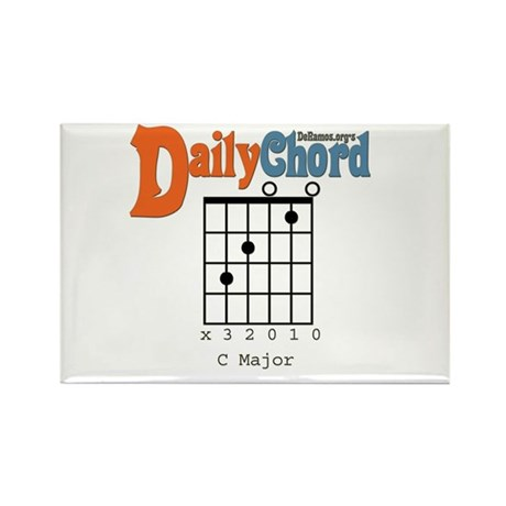 Daily Chord Rectangle Magnet (10 pack)