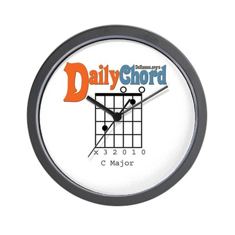 Daily Chord Wall Clock