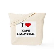 I Love Cape Canaveral Tote Bag