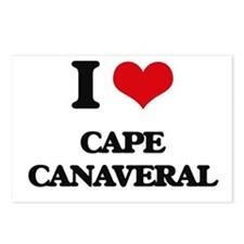 I Love Cape Canaveral Postcards (Package of 8)