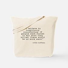 Compulsory Cannibalism Tote Bag
