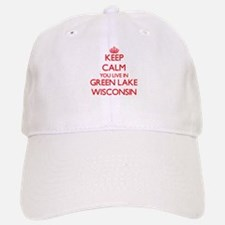 Keep calm you live in Green Lake Wisconsin Baseball Baseball Cap