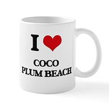 I Love Coco Plum Beach Mugs