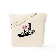 Number One Niece Tote Bag