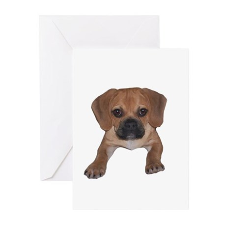 Just puggle Greeting Cards (Pk of 10)