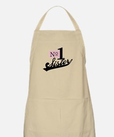 Number One Sister BBQ Apron
