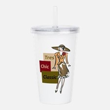TRES CHIC CLASSIC Acrylic Double-wall Tumbler