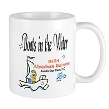 5 Boats in the Water Mug