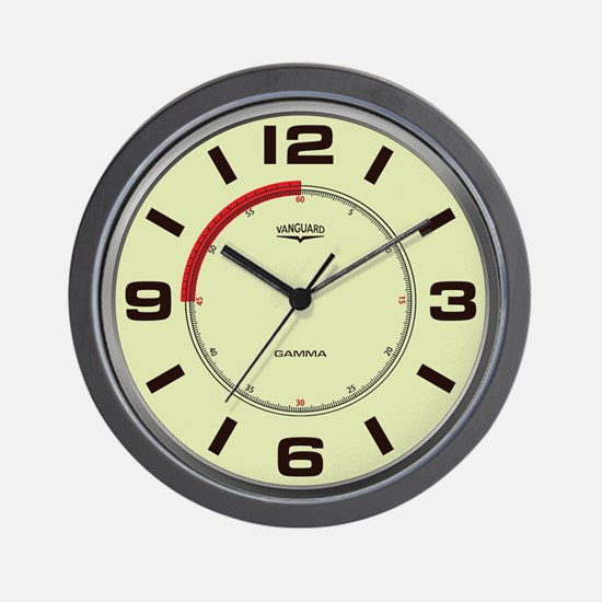 Vanguard Gamma Wall Clock
