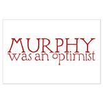 Murphy: Optimist Large Poster