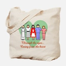 Caring From The Heart Tote Bag