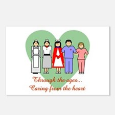 Caring From The Heart Postcards (Package of 8)