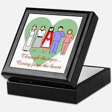 Caring From The Heart Keepsake Box