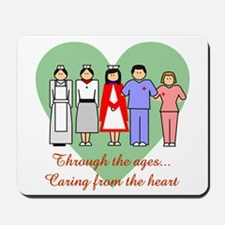 Caring From The Heart Mousepad