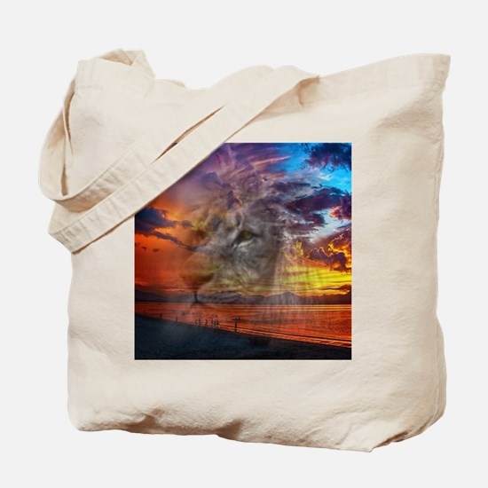 Magic Animals THE LION Tote Bag