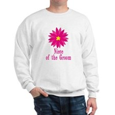 Cool Groom's Niece Sweatshirt