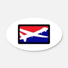AMERICAN AIRCRAFT Oval Car Magnet