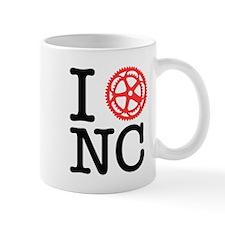 I Bike NC Mug